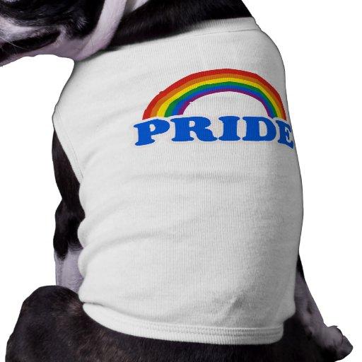 Colores del orgullo camisetas de mascota