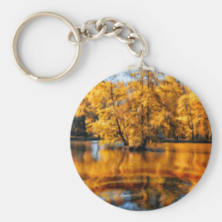 Colores del otoño 2 llavero redondo tipo pin