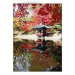 Colores del otoño de Seul Felicitaciones