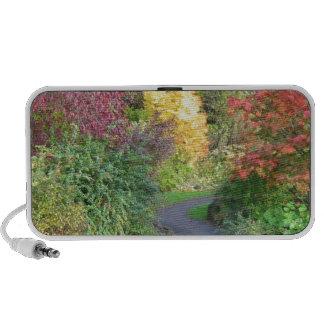 Colores del otoño notebook altavoz