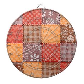 Colores del otoño; Rojo, naranja, remiendo de Brow
