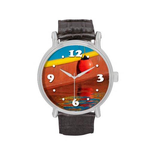 Colores del puerto reloj