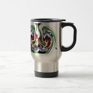 Colores del regalo del hakunamatata de taza de viaje