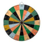 Colores del sitio de juego del oro verde y del nar tablero de dardos