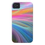 colores del tiro Case-Mate iPhone 4 fundas