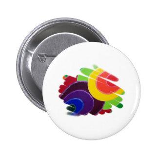 Colores del trópico del botón pin