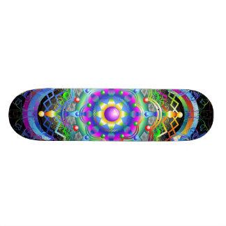 Colores del universo de la mandala patin personalizado