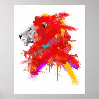 Colores del valor póster