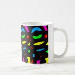 colores del viento que tuerce en espiral taza de café