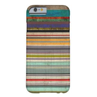 Colores del vintage de los hombres funda para iPhone 6 barely there