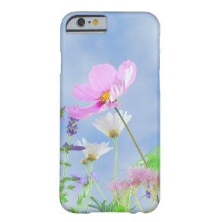 colores delicados de las flores del bonito del funda para iPhone 6 barely there