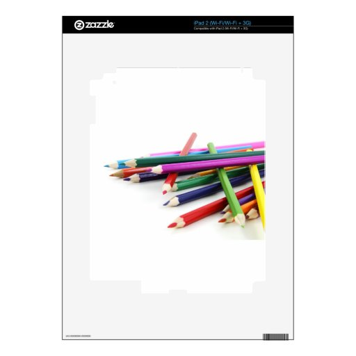 Colores dichosos iPad 2 skins