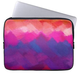 Colores dinámicos abstractos 19 de la pintura el | funda ordendadores