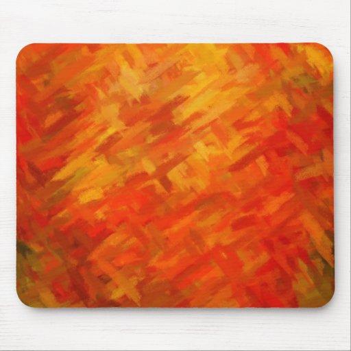 Colores dinámicos abstractos 7 de la pintura el   alfombrilla de ratones