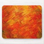 Colores dinámicos abstractos 7 de la pintura el | tapete de raton