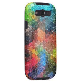 Colores dinámicos abstractos de la pintura el | galaxy s3 carcasas