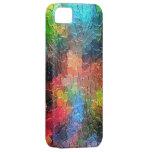 Colores dinámicos abstractos de la pintura el | iPhone 5 protector