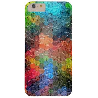 Colores dinámicos abstractos de la pintura el | funda de iPhone 6 plus barely there