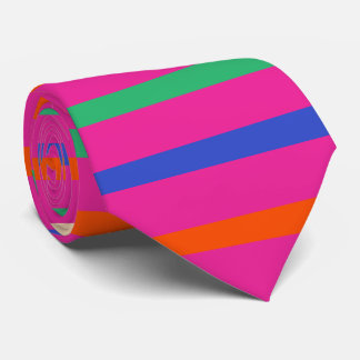 Colores diy de PixDezines/rayas ajustables Corbatas