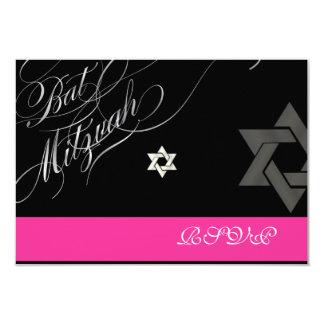 """Colores diy/rsvp/palo Mitzvah de PixDezines Invitación 3.5"""" X 5"""""""