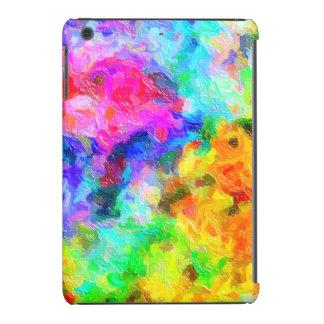 Colores dramáticos de la pintura fundas de iPad mini retina