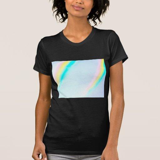 Colores en colores pastel del espectro camisetas