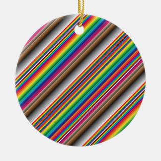 colores en diagonal ornamento de reyes magos