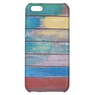 Colores en el caso de madera del trabajo de la pin