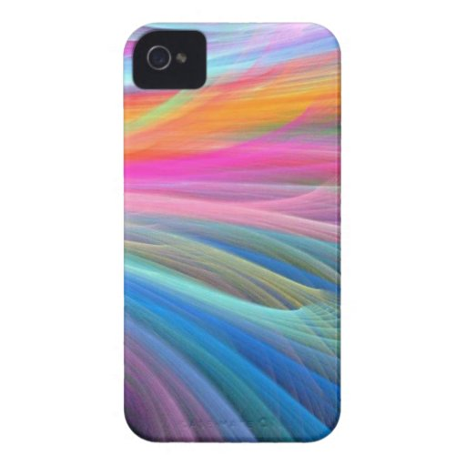 Colores encantadores iPhone 4 Case-Mate cárcasas