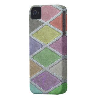 Colores endurecidos - cubierta del iPhone 4/4S iPhone 4 Case-Mate Cárcasa