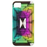 Colores enrrollados iPhone 5 Case-Mate cárcasa