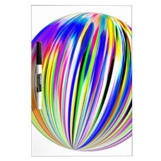 Colores esféricos de Simultaenous Tableros Blancos