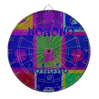 Colores especiales del arte pop de Santa HoHoho