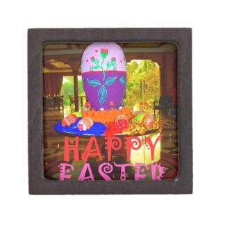 Colores felices de Pascua Cajas De Regalo De Calidad