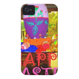 Colores felices de Pascua iPhone 4 Cárcasa