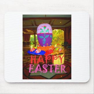 Colores felices de Pascua Mouse Pads