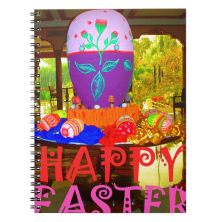 Colores felices de Pascua Note Book