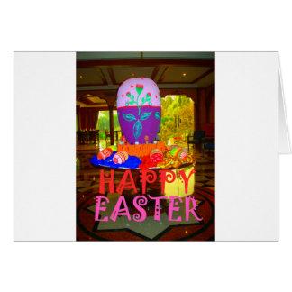 Colores felices de Pascua Tarjeta De Felicitación