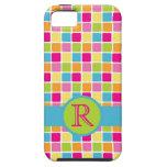 Colores femeninos del caramelo del POP de la diver iPhone 5 Case-Mate Fundas