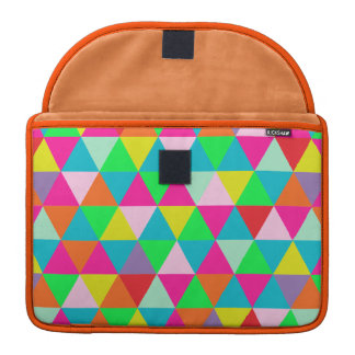Colores geométricos/de neón de PixDezines Funda Macbook Pro