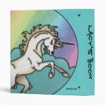 Colores hermosos del unicornio y del arco iris de