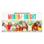 Colores intrépidos felices y brillantes de la tarj tarjetas personales