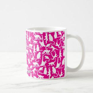 Colores inversed collage de Munkey en la taza de