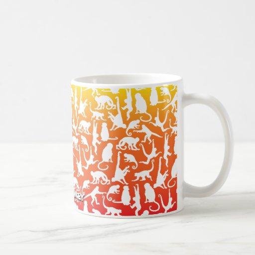 Colores inversed collage de Munkey en la taza de c