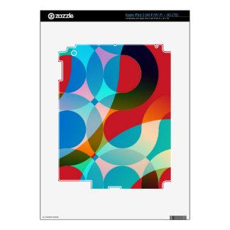 colores iPad 3 pegatinas skins