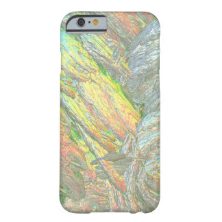 Colores iridiscentes de Shell Funda De iPhone 6 Barely There