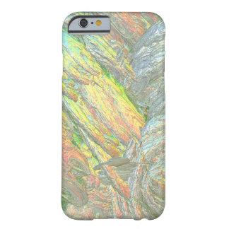 Colores iridiscentes de Shell Funda De iPhone 6 Barely There