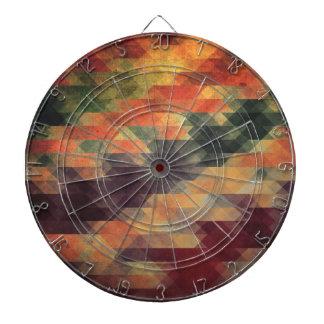 Colores llevados rayas intrépidas geométricas