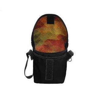 Colores llevados rayas intrépidas geométricas bolsas messenger