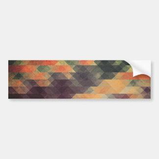 Colores llevados rayas intrépidas geométricas pegatina para auto
